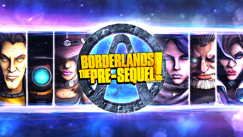 Borderlands Wallpaper - Crossing the Galaxy by mentalmars