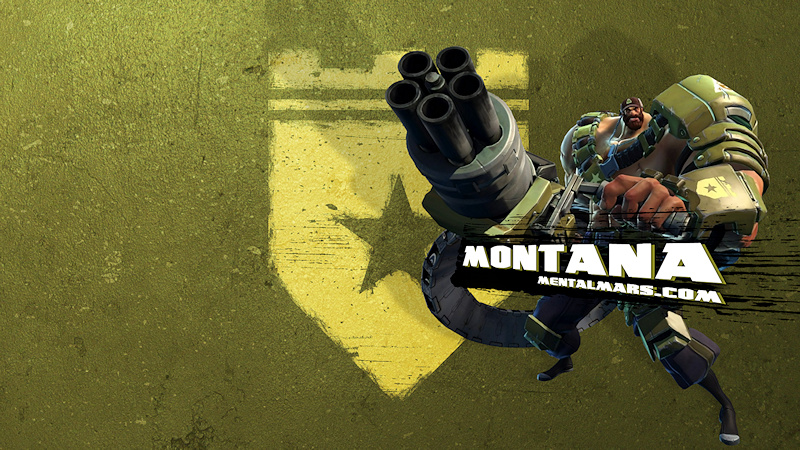 Battleborn Wallpaper - Montana by mentalmars