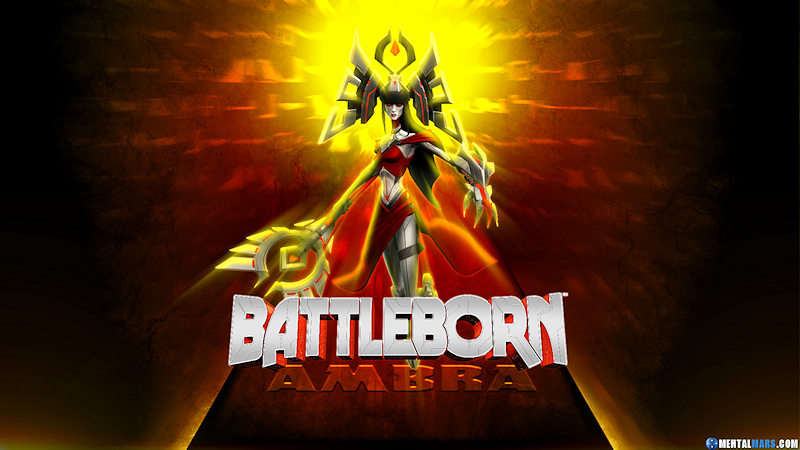Battleborn - Ambra Wallpaper by mentalmars
