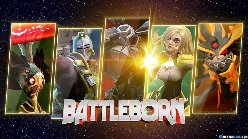 Battleborn Team 2 Wallpaper by mentalmars