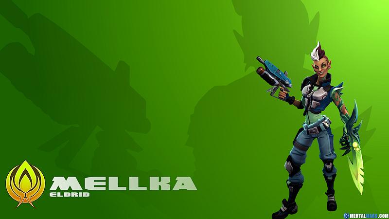 Battleborn Character Wallpaper - Mellka by mentalmars