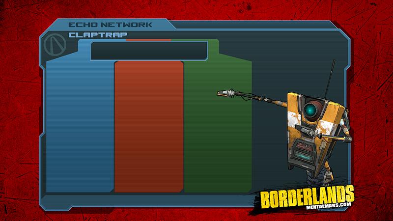 Borderlands Skill Tree Wallpaper - Claptrap by mentalmars