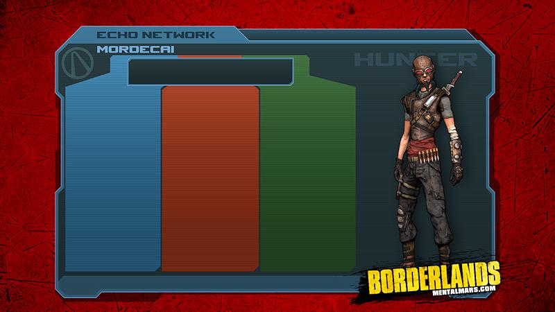 Borderlands 1 Skill Tree Wallpaper - Mordecai by mentalmars