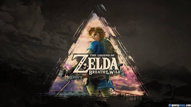 Zelda Breath of the Wild Triforce Wallpaper