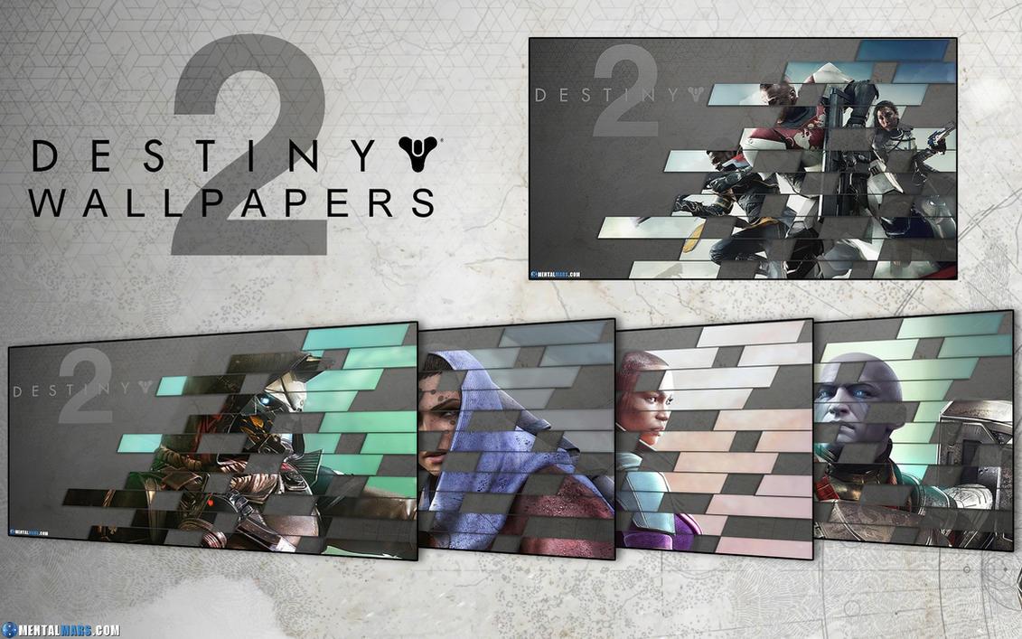 Destiny 2 Wallpaper Pack by mentalmars