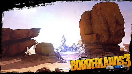 Borderlands 3 Badlands Wallpaper
