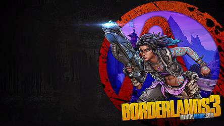 Borderlands 3 - Vault Symbol Wallpaper - Amara