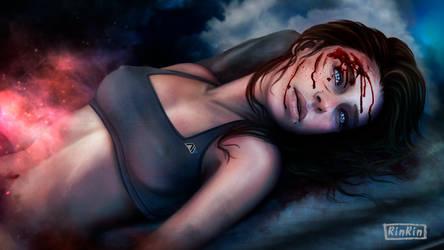 Sarah Ryder. Mass Effect Andromeda by RINxxxRIN