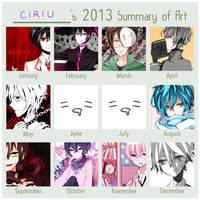 2013 ART SUMMARY by Ciriu