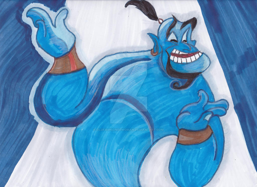 Aladdin's Genie: A tribute to Robin Williams