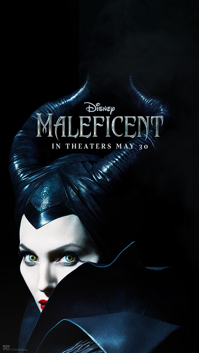 Angelina Jolie Maleficent Movie Iphone Background By