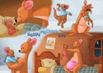 Kanga and Roo Early Mother's Day gift