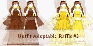 [OPEN RAFFLE} Outfit Adoptable Raffle #2 by serenityione