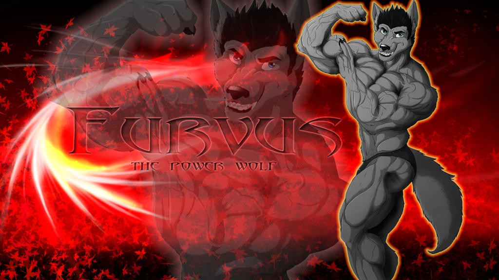 Anthro Wolf Wallpaper Furvus Wolf Wallpaper by