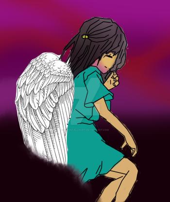 Shiko The Guardian Angel by MoonFallHunt