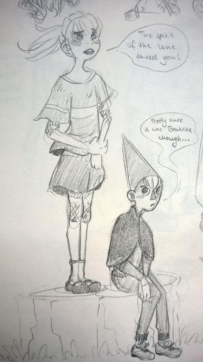 Chihiro and Wirt by Colourcloud