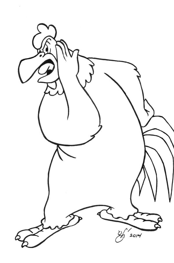 foghorn coloring pages - photo#29