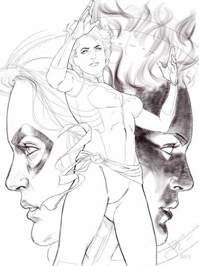 Captain Marvel WIP
