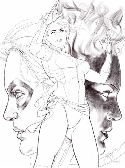 Captain Marvel WIP