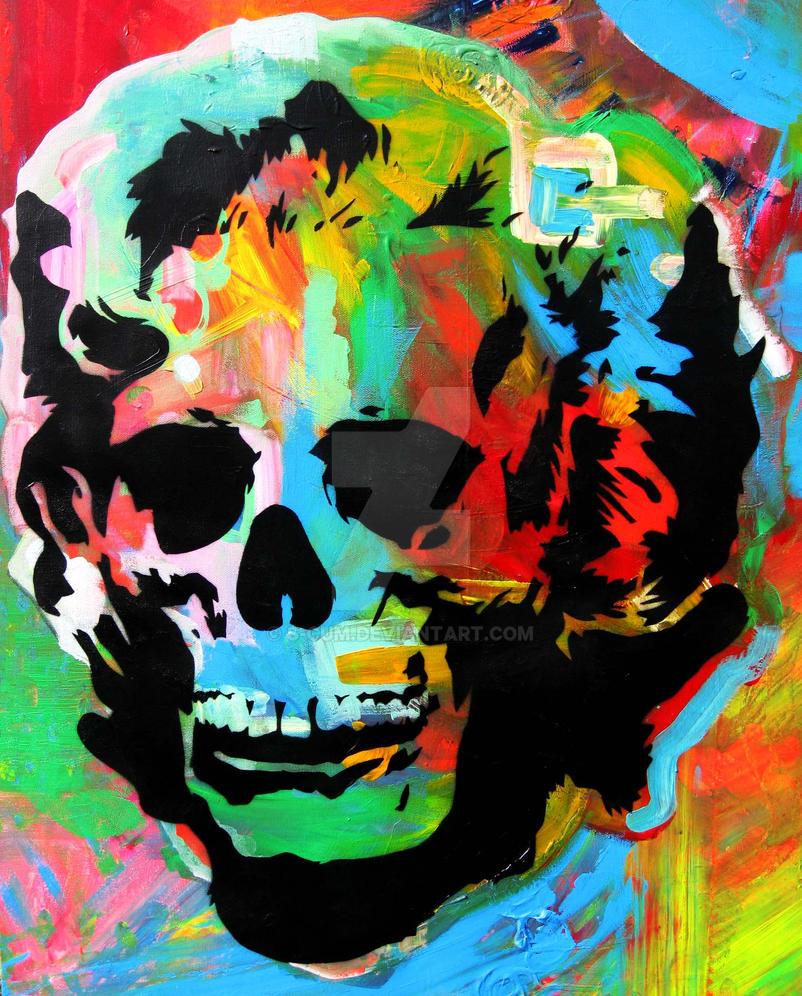 Beautiful Skull by s-cum
