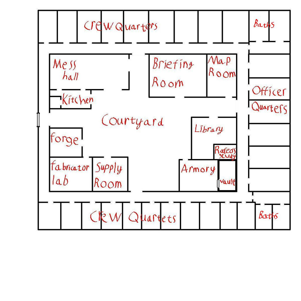 Barracks Floor Plan By Memantheguy On Deviantart