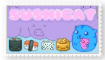 Sushi Cat Stamp by Autumn-Blizzard-Fang