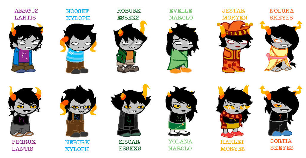 homestuck fan trolls by mrjmzack on deviantart