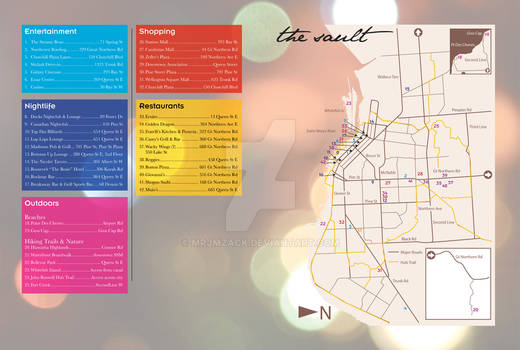 The Sault: Guidebook Map