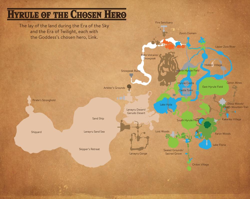 Hyrule of the Chosen Hero by MrJmZack