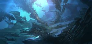Hunt of shark