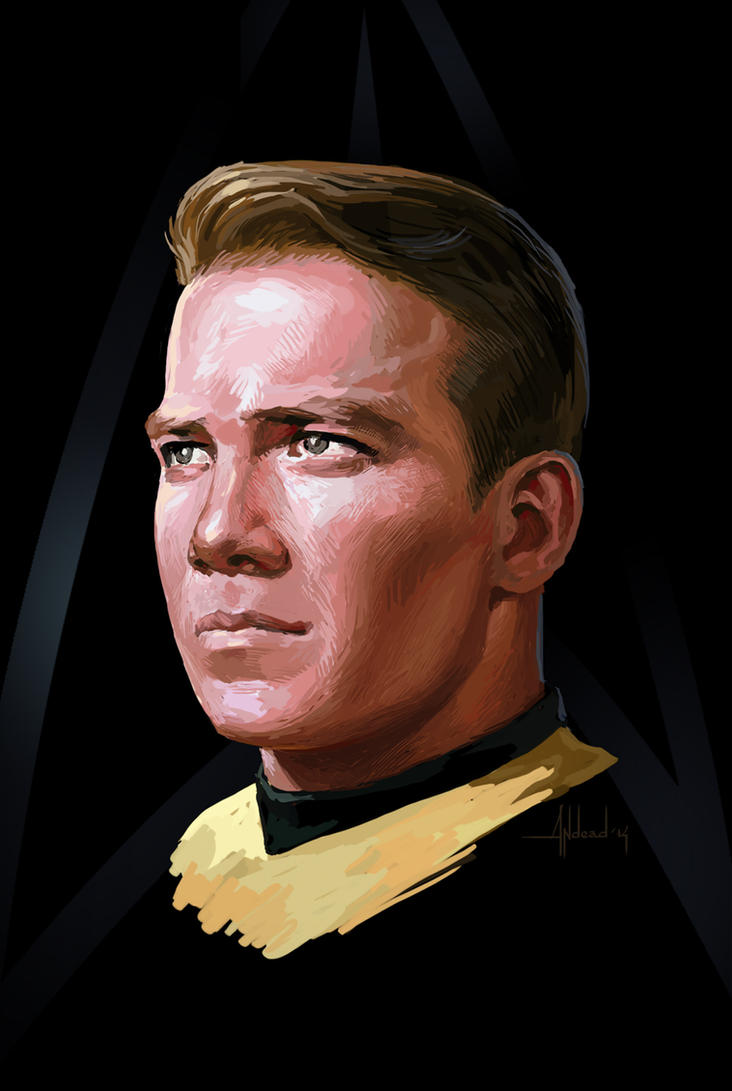 James T. Kirk by Andead