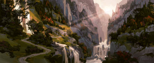 Valley by Andead
