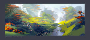 Skyforge. Autumn Setting 03 by Andead