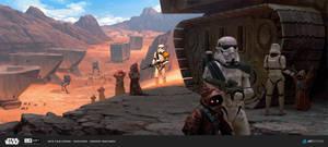 ILM Art Challenge - Imperial Patrol