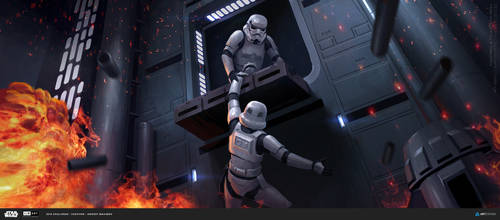 ILM Art Challenge - Hold on tight! by Andead