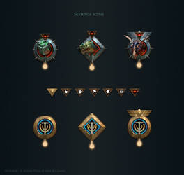 Skyforge. Icons by Andead
