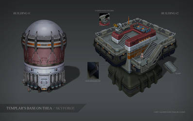 Skyforge. Thea. Building#1 and Building#2