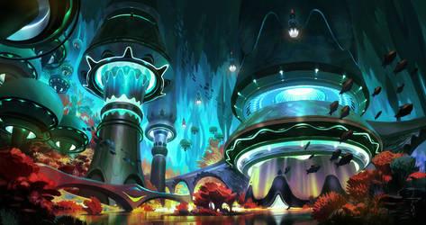 Beyond Human - Underwater World - 3\4