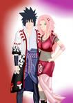 Saske Uchiha and Sakura Haruno