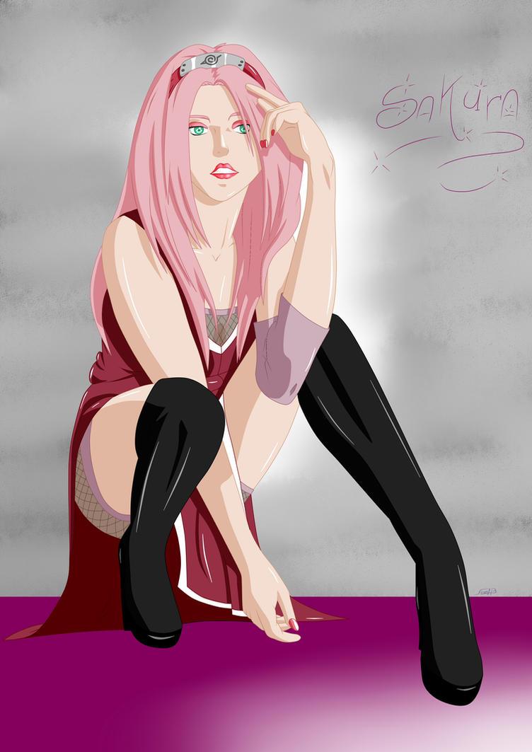 Sakura Haruno by AlexPetrow on DeviantArt