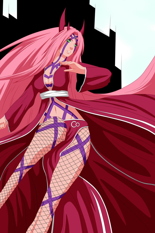 Sakura Haruno Final form by AlexPetrow on DeviantArt