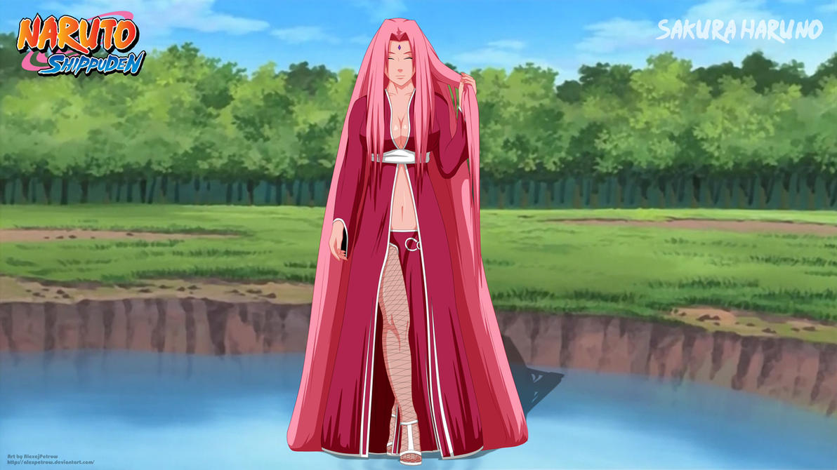 Sakura Haruno Final by AlexPetrow on DeviantArt