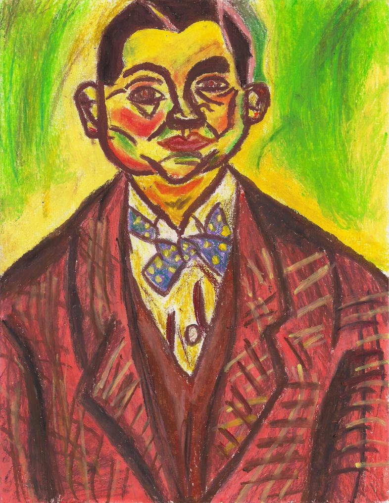 Joan miro self portrait by mazamaza15