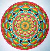 Harmony of life mandala by Aneniko