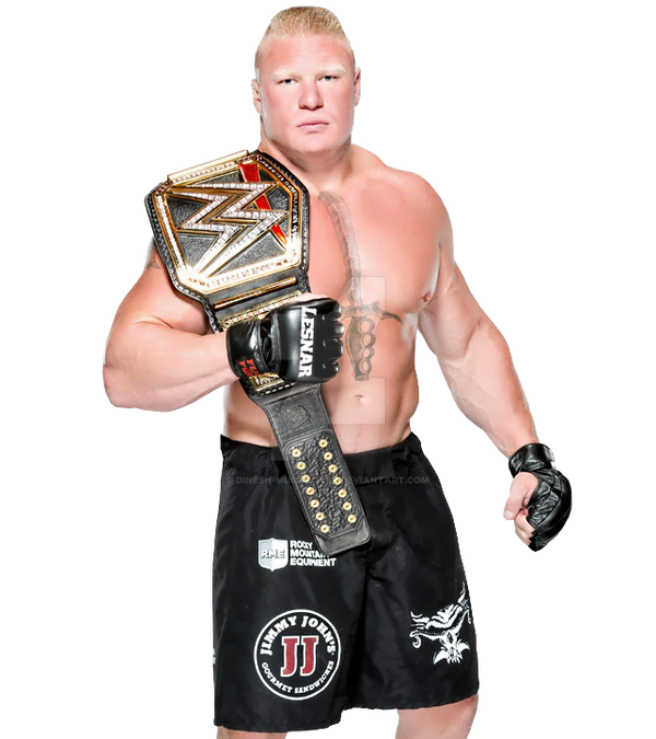 WWE Brock Lesnar Render 2014 World Heavyweig By Dinesh Musiclover
