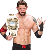 Bad News Barrett Intercontinental Champion PNG by Dinesh-Musiclover