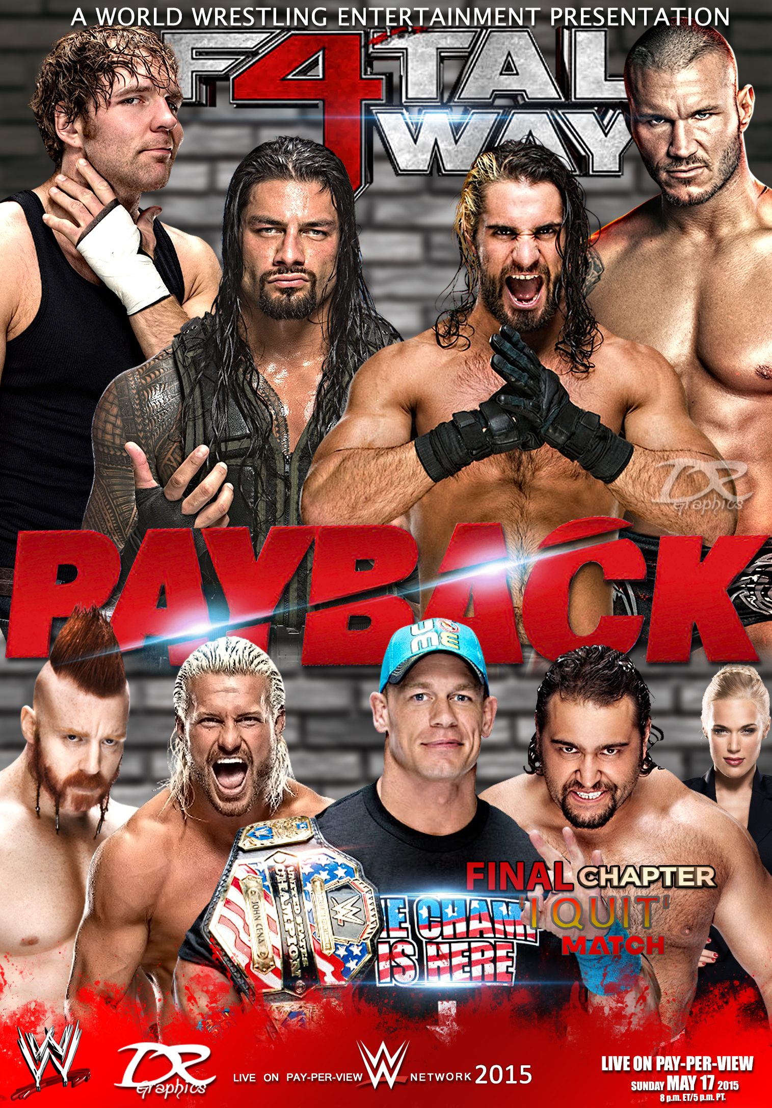 WWE - PayBack - 2015 [HDTV] [Dual]