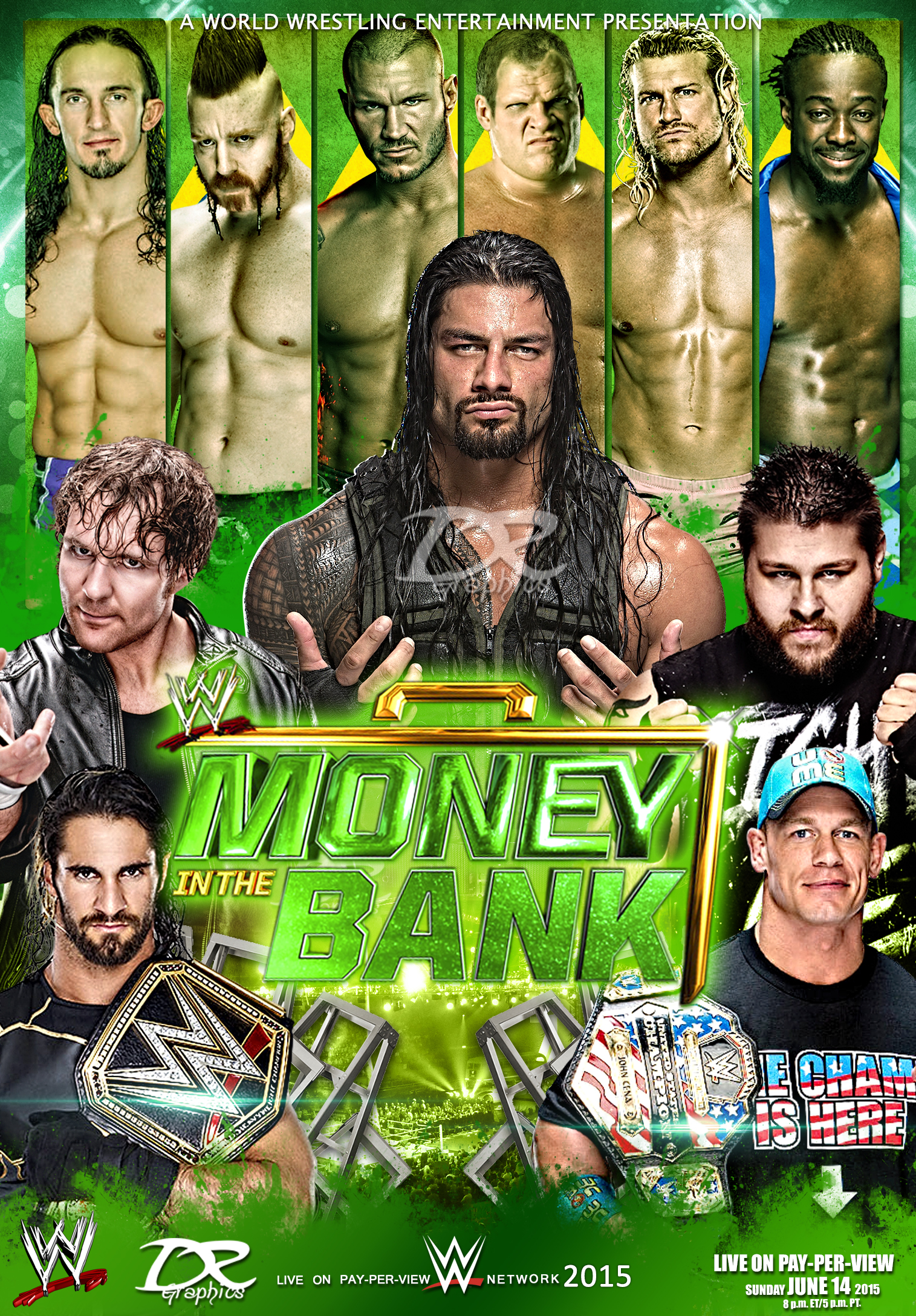 Galerry WWE Money in the Bank 2016 DVD