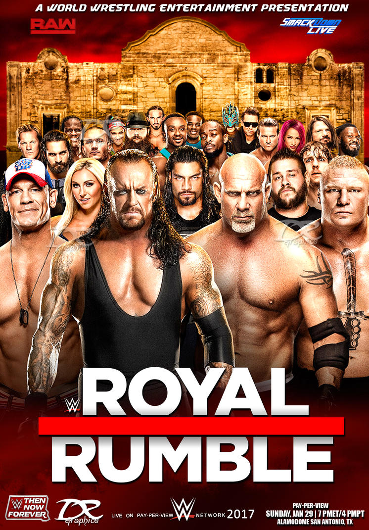 WWE Royal Rumble 2017 POSTER by Dinesh-Musiclover on ...