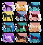 [CLOSED] Mystic horses by Dezaaru